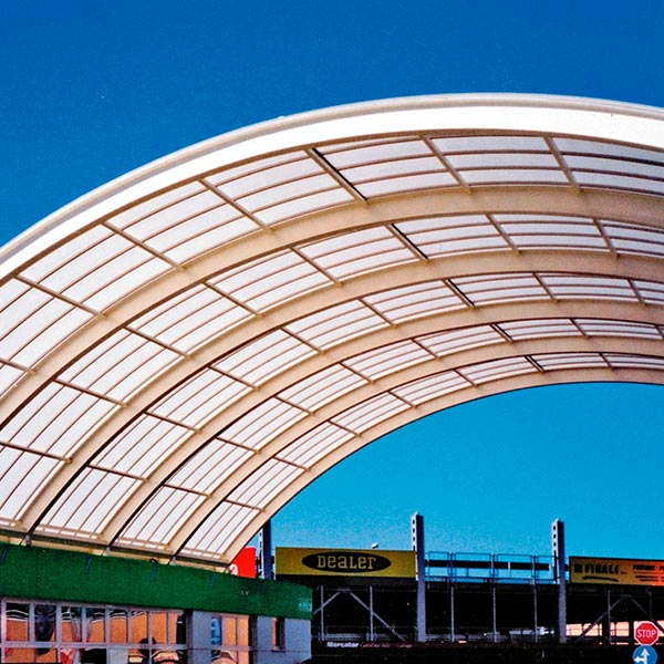 Sun Modul For Curved Roof